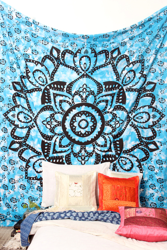 Ombre Blue Tapestry