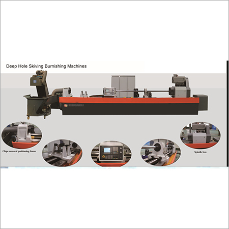 Skiving Rolling & Burnishing Machine
