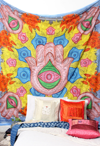 Hand Print Tapestry