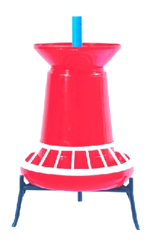 CHICK FEEDER with FUNNEL & GRILL (3kg.)