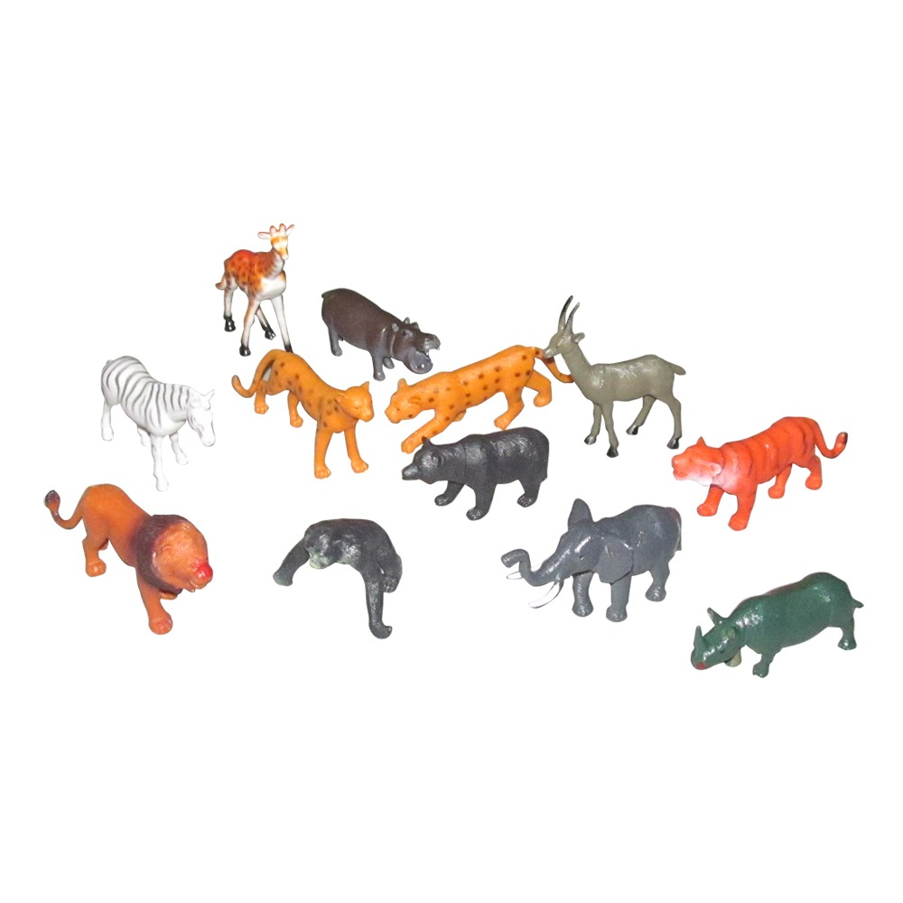 Animals Figures Set For Kids,Pack Of 12