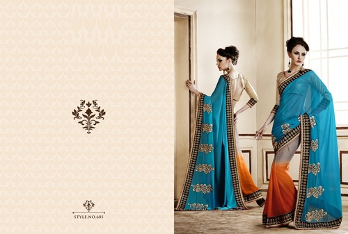 Modern Designer Saree Supplier