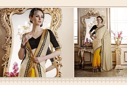 Colourful Designer Saree Online