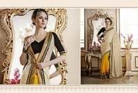 Colourful Designer Saree Online