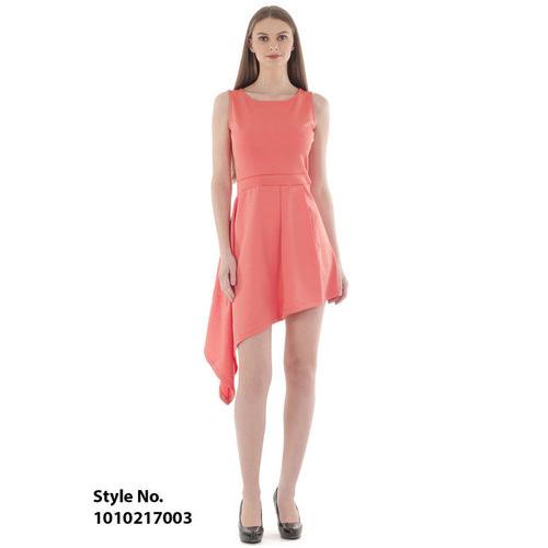 Asymmetrical Scuba Dress