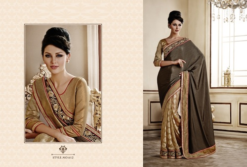 Designer Saree with Work