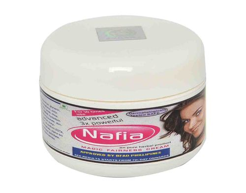nafia 4x magic fairness cream -32 shades fairer- result in 15 days or money back
