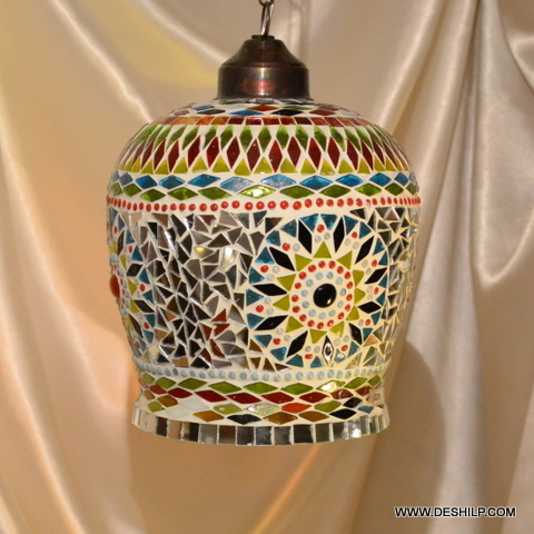Vintage Antique Ceiling Lamp Hanging Pendant Light