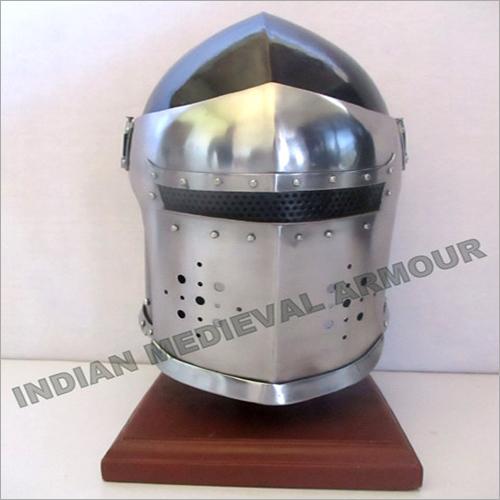 Medieval Magneto Helmet With Visor