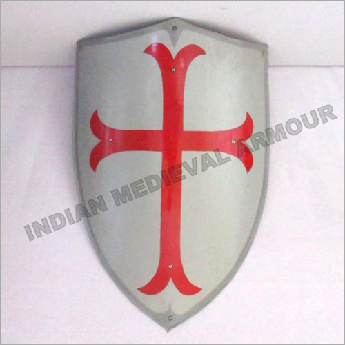 Medieval Templar Shield