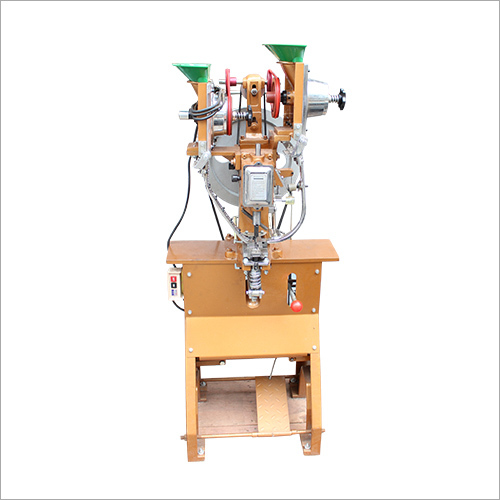 Eyelet Double Channel Machine