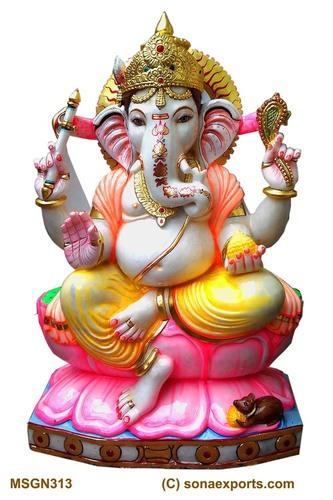 Marble Lord Ganesh Moorti