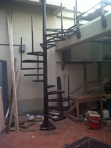 Spiral Staircase Structure
