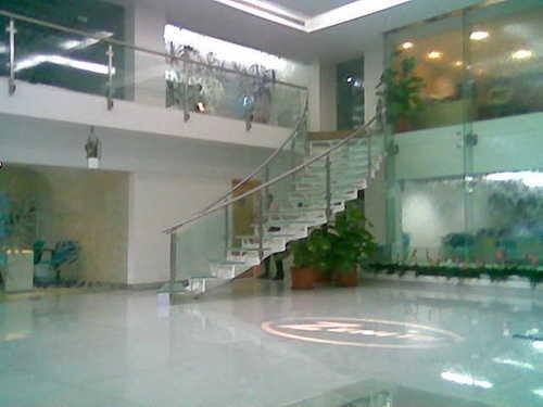 Metal Mall Railing