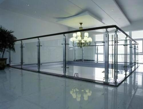 Stainless Steel Mall railing