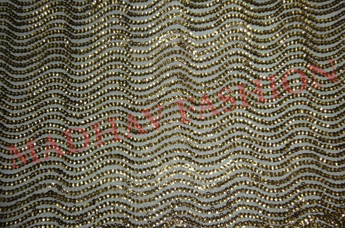 Full Sequin Work Embroidery Fabrics.