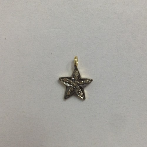 Star Chrams Gold Plated Pendant
