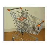 90 Ltrs Stainless Steel Shopping Trolley