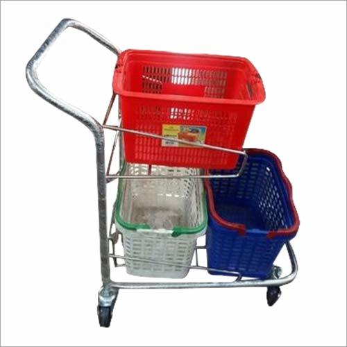 Heavy Duty Shopping Trolley