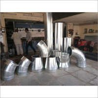 Round Duct Fitting for Textile Industry