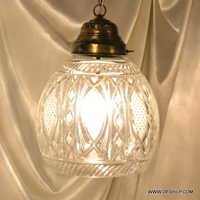Vintage Mini Glass Pendant Hanging Lamp Modern Light Glass Chandelier Lighting