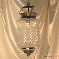 mosaic hanging lamp glass chandelier light lampe mosaiqe hng