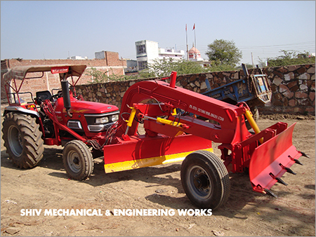 Tractor Grader On 60hp Mahindra