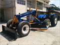Grader with New Holland
