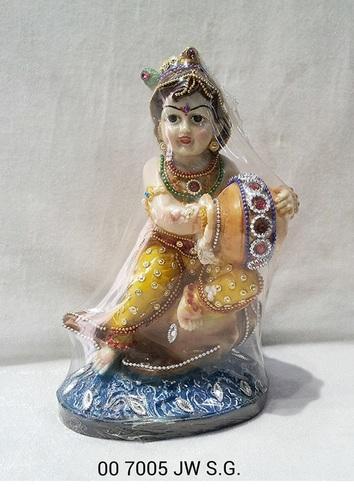Jewellry Krishna Statue