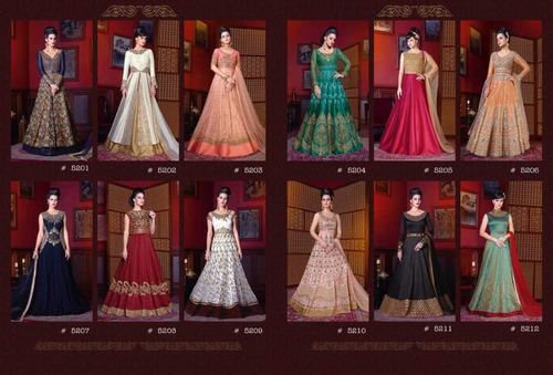 Anarkali Salwar Suits (VIOLATE)