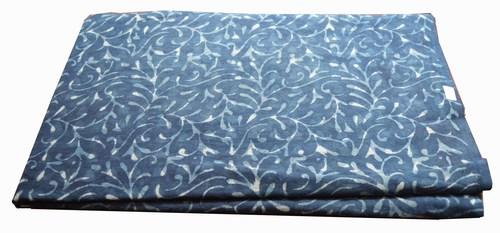 Hand Block Printed indigo bagru dabu Fabric