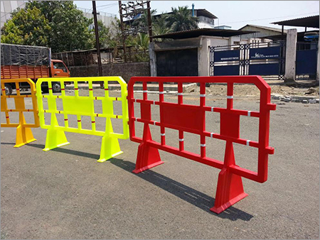 Plastic Road Safety Barricade