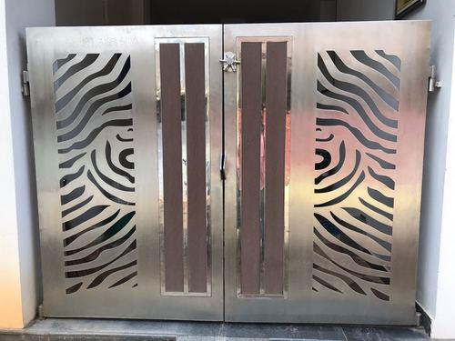 Stainless Steel Laser Cutting Gates