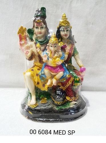 Medium Shiv Parivar Statue