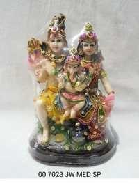 Jewellry Shiv Parivar Statue