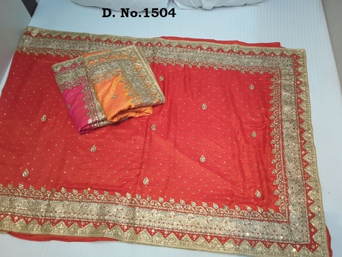 Non Catalogue Stone Work Sarees