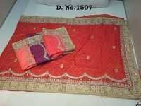 Heavy Stone Work Saree Supplier In India
