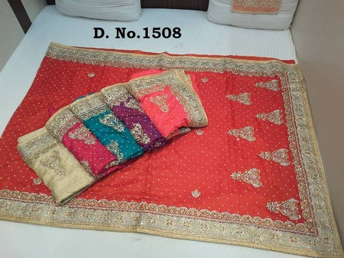 Heavy Stone Work Sarees