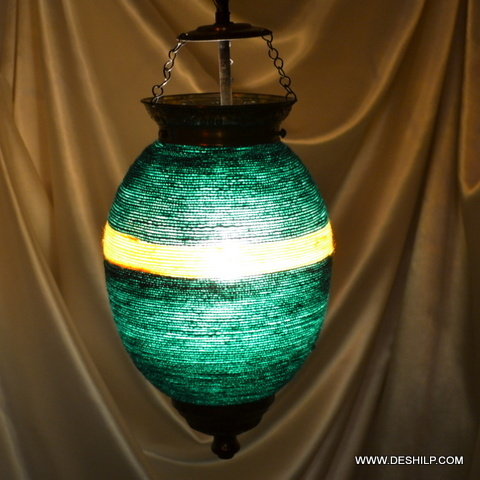 Glass Pendant Light Hand Blown Glass Pendant