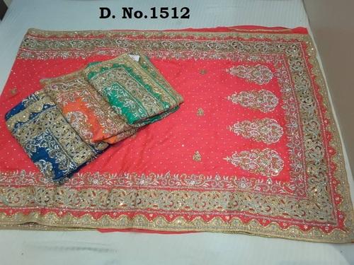 Heavy Work Bridal Saree Online