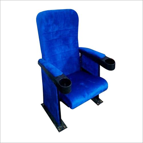 Blue Push Back Chair