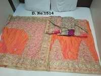 Patli Butta Silk Stone Work Sarees