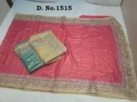 Designer Stone Work Sarees Supplier