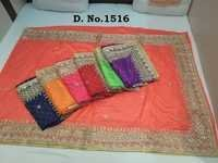 Heavy Stone Work Border Sarees