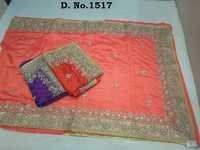 Heavy Work Saree At Reasonable Price