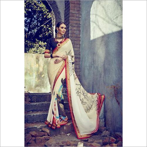 Satyapaul Designer Prints Sarees