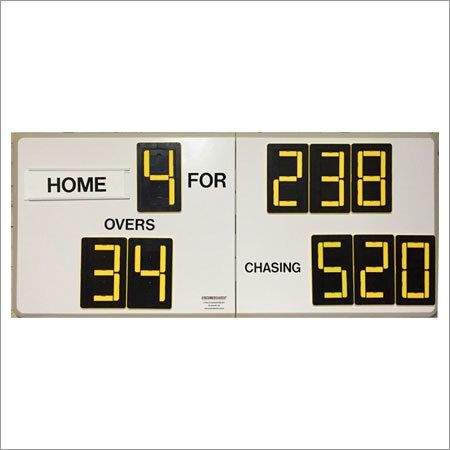 Cricket Self Supporting Scoreboards