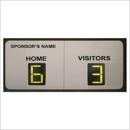2 Digits Soccer Manual Scoreboards