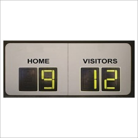 4 Digits Soccer Manual Scoreboards