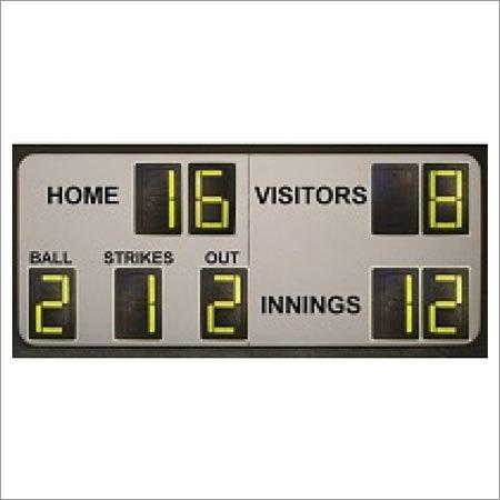 9 Digit Softball Manual Scoreboards